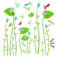 Water Lilies Decals