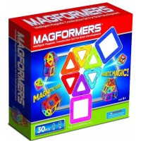 Magformers Rainbow 30-Piece Set