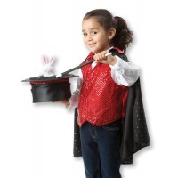Magician Costume Set