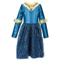 Brave Princess Merida Adventure Hero Costume Dress