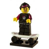 Lego Skater Girl Figure