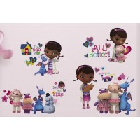 Doc McStuffins Decals