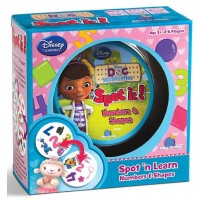 Spot It! Doc McStuffins - Numbers and Shapes