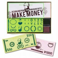 Make Money Rubber Stamp Set