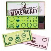 Make Money Rubber Stamp Set