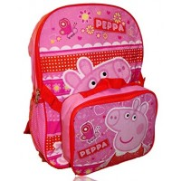Peppa Pig Backpack and Lunch Bag