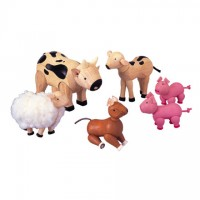 PlanToys Farm Animal Set