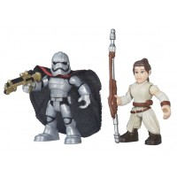 Playskool Galactic Heroes - Rey and Captain Phasma