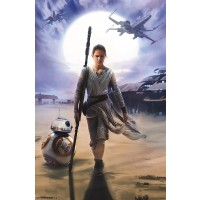 Rey and BB-8 Poster