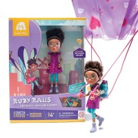 Ruby Rails Action Figure