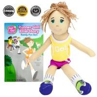 Go! Go! Sports Girl Doll: Runner Girl Ella, Read and Play Set