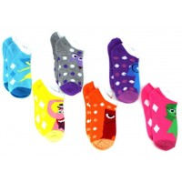Inside Out Youth Ankle Sock 6-Pack