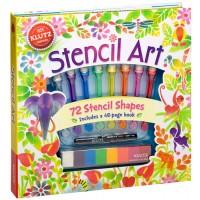Stencil Art Kit