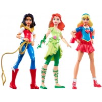 "DC Super Hero Girls Triple Team 6"" Action Figure Pack"