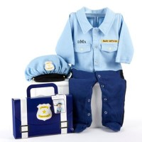 Baby Police Officer Layette Set