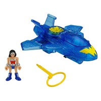 Wonder Woman and Invisible Jet