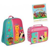 Go Go Backpack / Classic Lunchbox Set