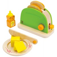 Hape Pop Up Toaster Play Set