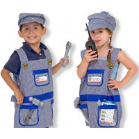 Melissa and Doug Train Engineer Costume Set