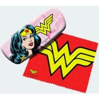 Wonder Woman Eyeglass Case and Lens Cloth