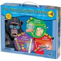 Young Scientists Set: Bacteria & Fungi, Weight & Volume, Acids & Bases