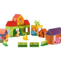Zanimoferme 22-Piece Farm Playset