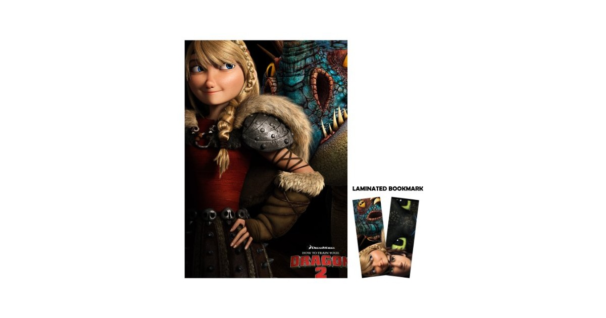 astrid poster how to train your dragon 2