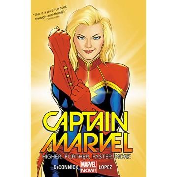 Captain Marvel: Higher, Further, Faster, More