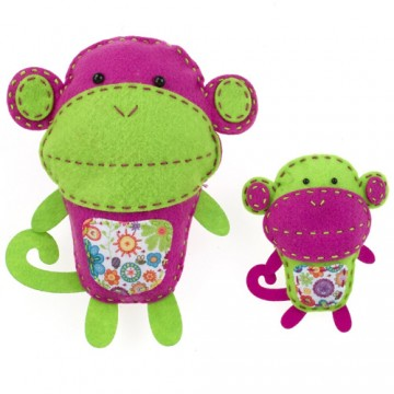 American Girl Crafts: Sew and Stuff Monkeys