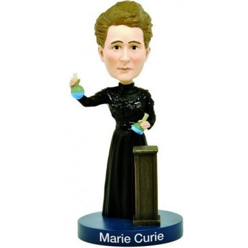 Marie Curie Bobblehead