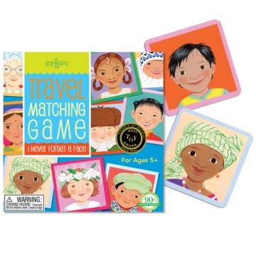 I Never Forget a Face Travel Memory Game