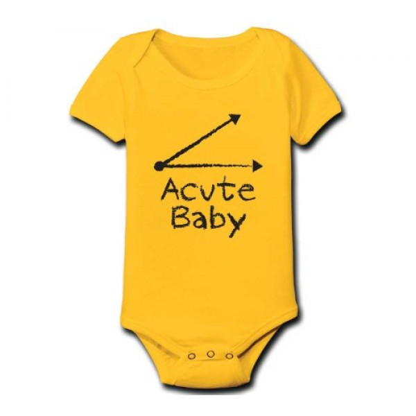 Acute Baby Onesie A Mighty Girl
