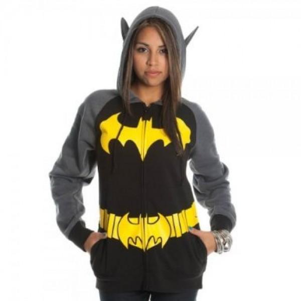 Batgirl Costume Hoodie
