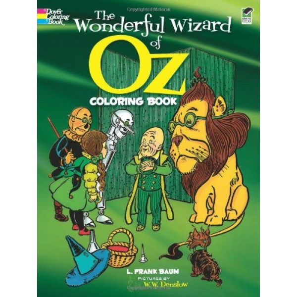 The Wonderful Wizard of Oz Coloring Book | A Mighty Girl