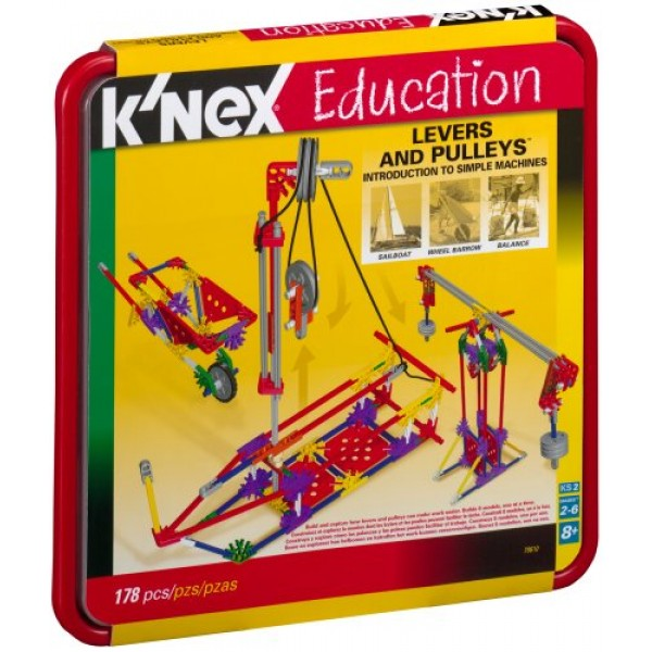 K Nex Intro To Simple Machines Levers And Pulleys A Mighty Girl