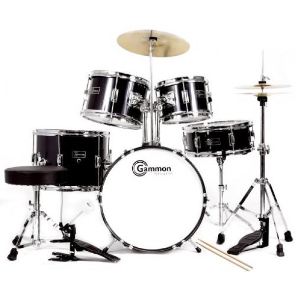 complete 5 piece drum set a mighty girl. Black Bedroom Furniture Sets. Home Design Ideas