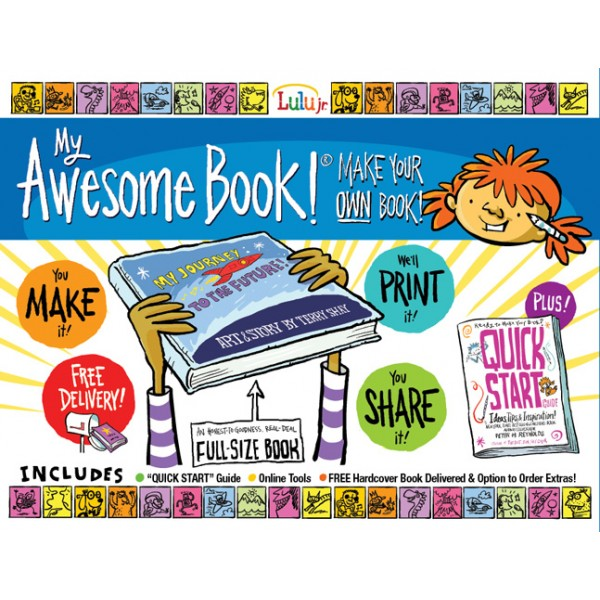 my awesome book make your own book a mighty girl