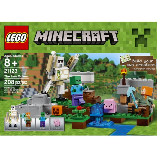Lego Minecraft The Iron Golem A Mighty Girl