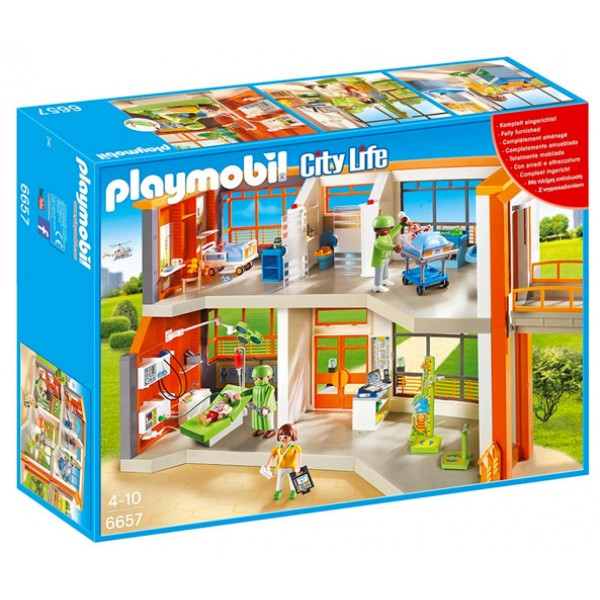 Playmobil Children S Hospital