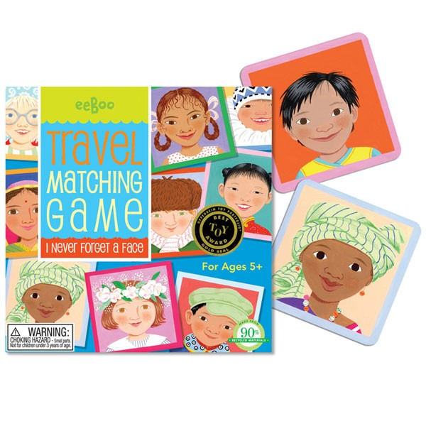 I Never Forget A Face Travel Memory Game A Mighty Girl