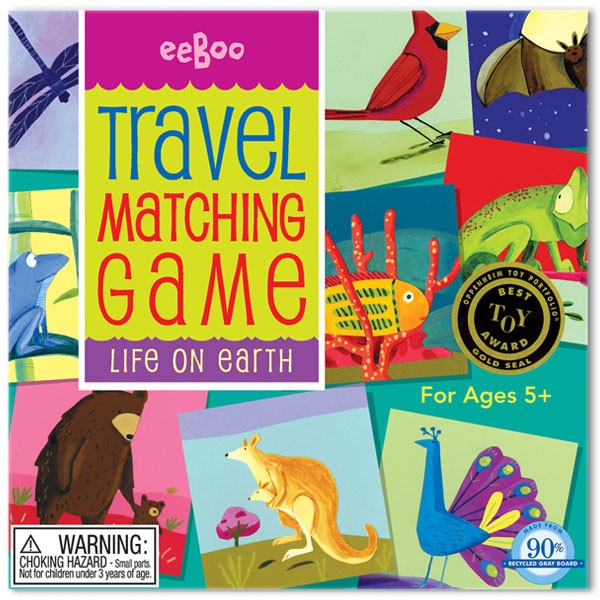 Life On Earth Travel Memory Game A Mighty Girl
