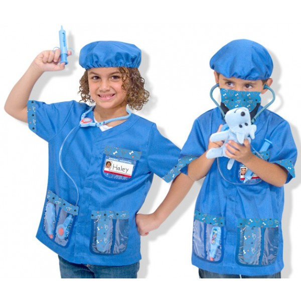 Melissa And Doug Veterinarian Costume Set A Mighty Girl