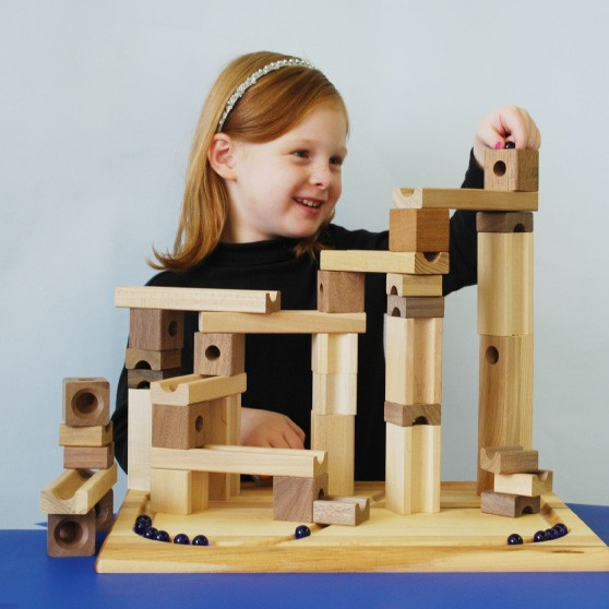 Blocks And Marbles Super Set A Mighty Girl