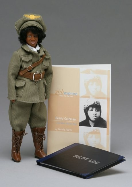 Bessie Coleman Doll Amp Biography A Mighty Girl