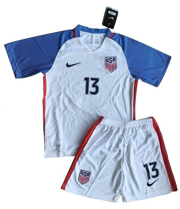 new photos 8a523 b8080 Alex Morgan Youth USWNT Home Uniform | A Mighty Girl