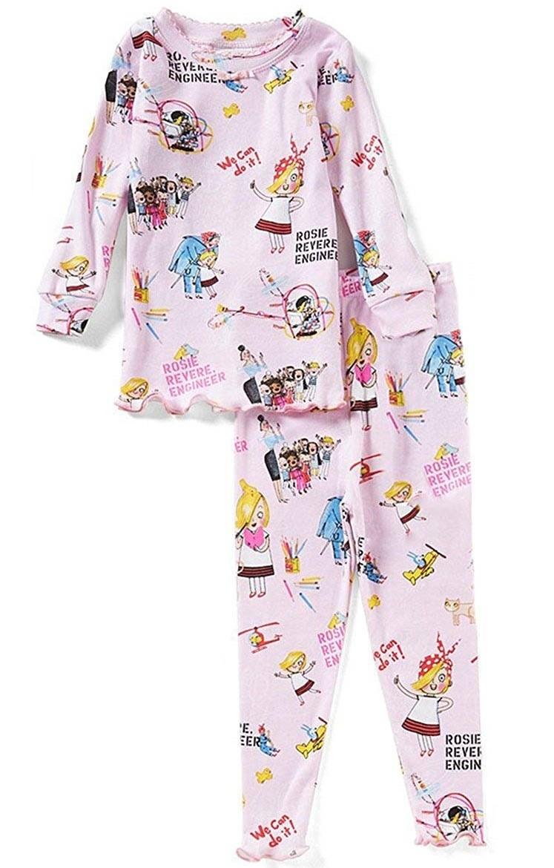 Lora Dora Disney Moana Pyjamas for Girls Nightwear Kids Full Length Character Pjs Set Gift