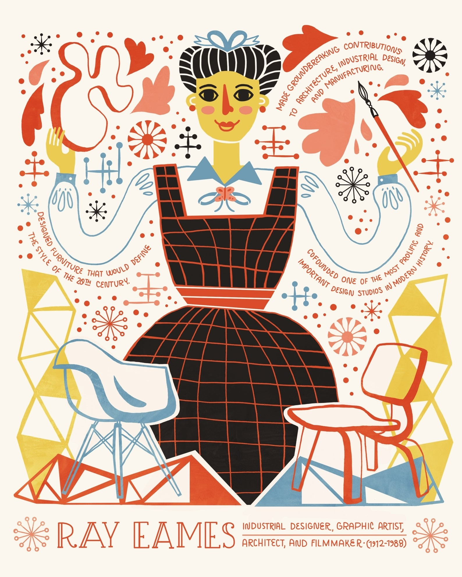 eames ray poster