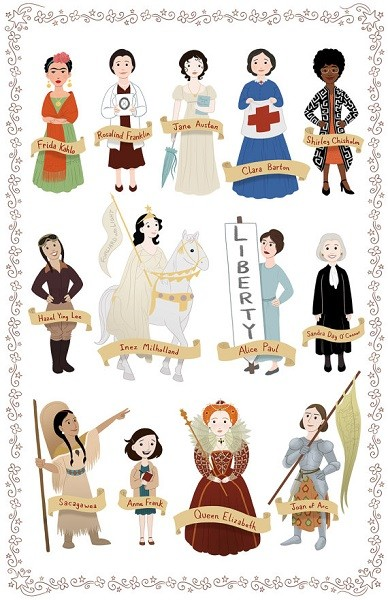Women In History Poster 2  A Mighty Girl-7655