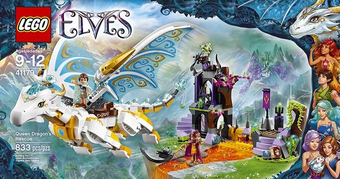 LEGO Elves Queen Dragon's Rescue | A Mighty Girl