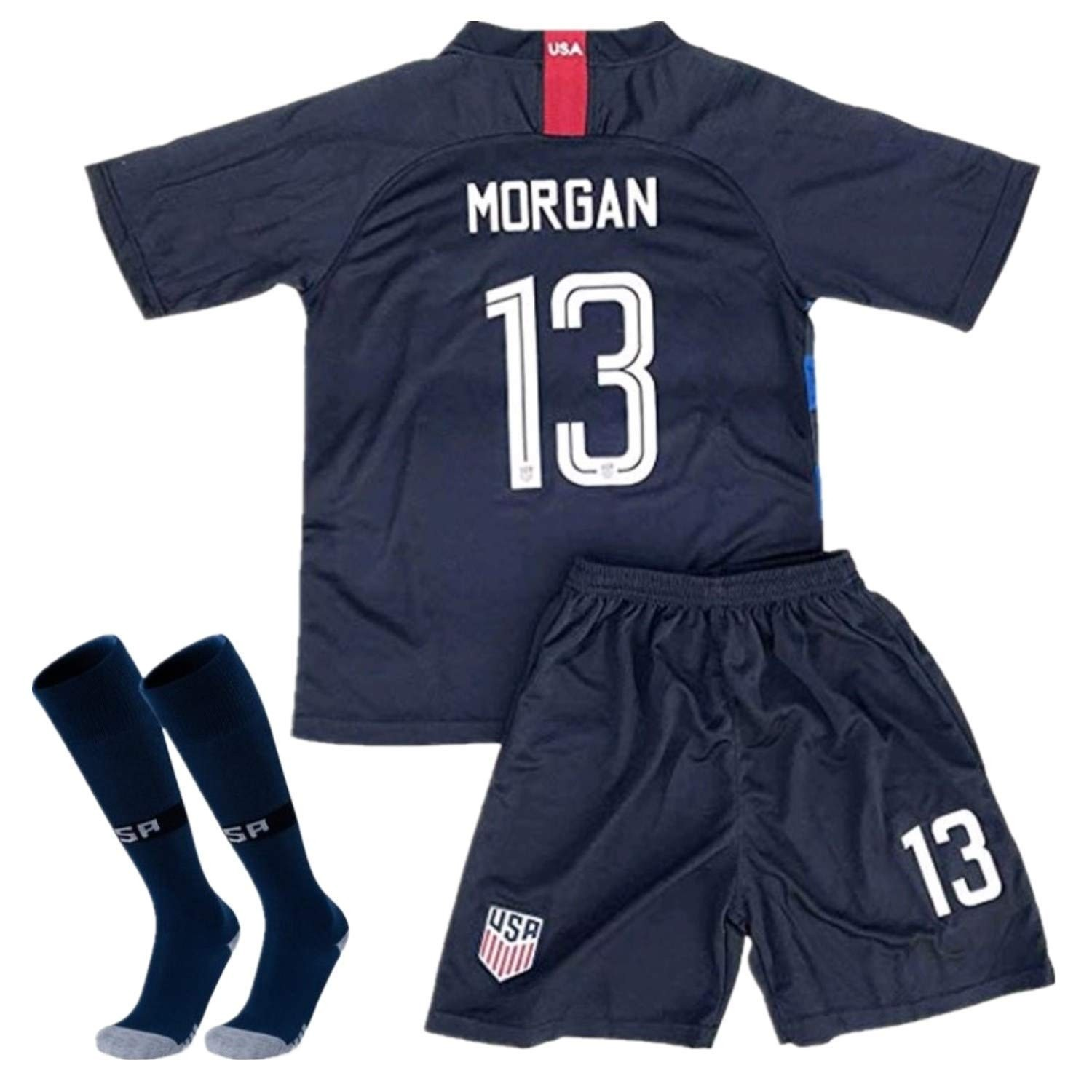 free shipping 187f4 a1e5d Alex Morgan Youth USWNT Uniform | A Mighty Girl